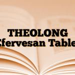 THEOLONG Efervesan Tablet