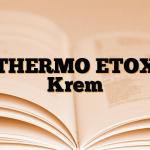 THERMO ETOX Krem