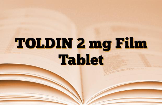 TOLDIN 2 mg Film Tablet