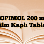 TOPIMOL 200 mg Film Kaplı Tablet