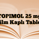 TOPIMOL 25 mg Film Kaplı Tablet