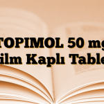 TOPIMOL 50 mg Film Kaplı Tablet