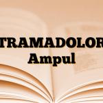 TRAMADOLOR Ampul
