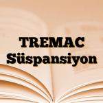 TREMAC Süspansiyon