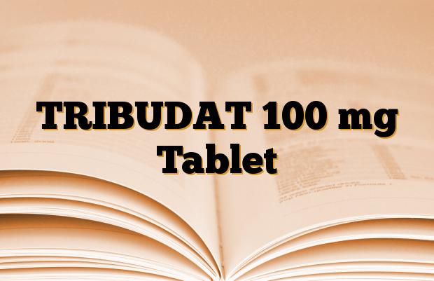 TRIBUDAT 100 mg Tablet
