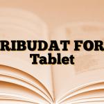 TRIBUDAT FORT Tablet