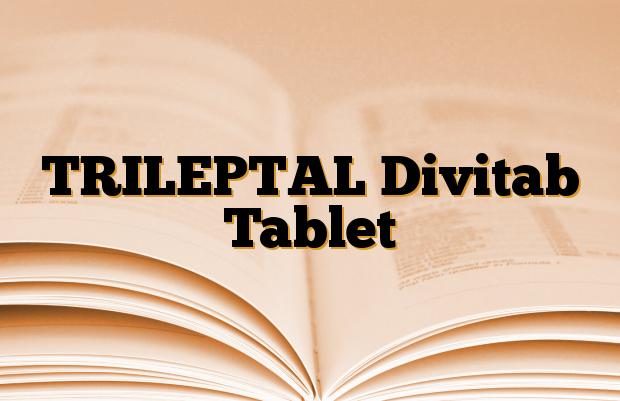 TRILEPTAL Divitab Tablet