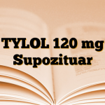 TYLOL 120 mg Supozituar