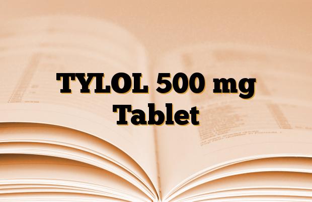 TYLOL 500 mg Tablet