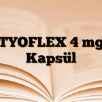 TYOFLEX 4 mg Kapsül