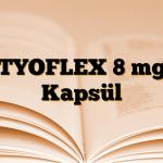 TYOFLEX 8 mg Kapsül