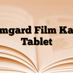 Tamgard Film Kaplı Tablet
