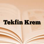 Tekfin Krem