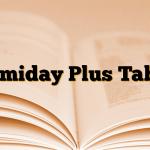 Telmiday Plus Tablet