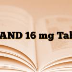 UCAND 16 mg Tablet