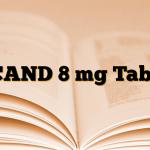 UCAND 8 mg Tablet
