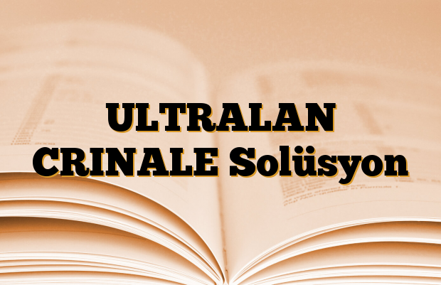ULTRALAN CRINALE Solüsyon