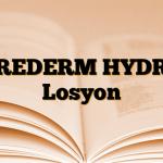 UREDERM HYDRO Losyon
