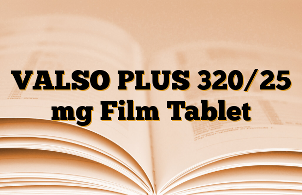 VALSO PLUS 320/25 mg Film Tablet