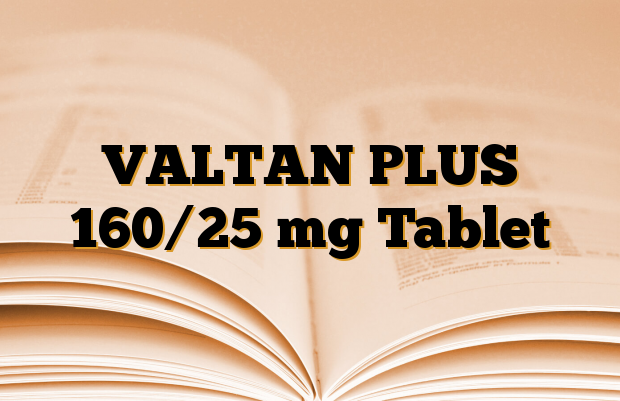VALTAN PLUS 160/25 mg Tablet
