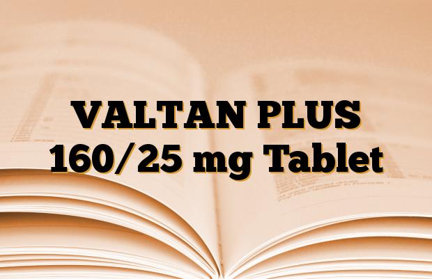 VALTAN PLUS 160/25 mg Tablet