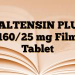 VALTENSIN PLUS 160/25 mg Film Tablet