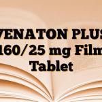 VENATON PLUS 160/25 mg Film Tablet