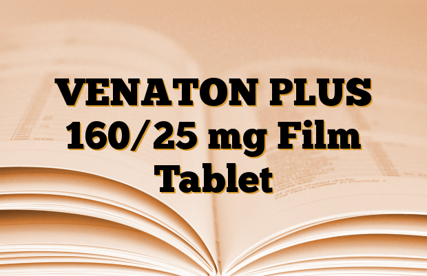 VENATON PLUS 160/25 mg Film Tablet
