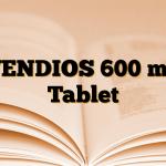 VENDIOS 600 mg Tablet