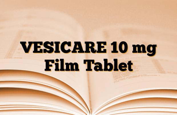 VESICARE 10 mg Film Tablet