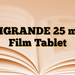 VIGRANDE 25 mg Film Tablet