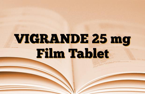 VIGRANDE 25 mg Film Tablet