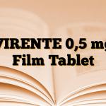 VIRENTE 0,5 mg Film Tablet