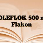 VOLEFLOK 500 mg Flakon