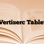 Vertiserc Tablet