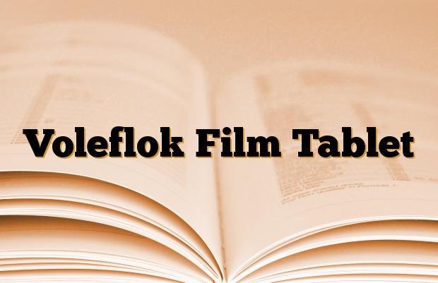 Voleflok Film Tablet