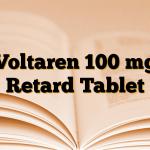 Voltaren 100 mg Retard Tablet