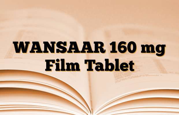 WANSAAR 160 mg Film Tablet