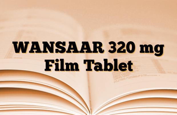 WANSAAR 320 mg Film Tablet