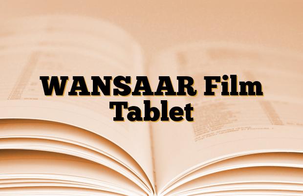 WANSAAR Film Tablet