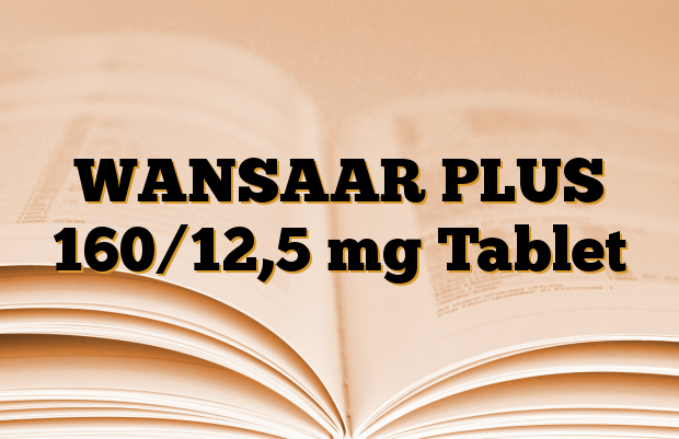 WANSAAR PLUS 160/12,5 mg Tablet