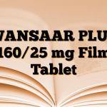 WANSAAR PLUS 160/25 mg Film Tablet