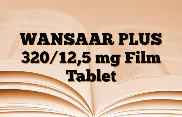 WANSAAR PLUS 320/12,5 mg Film Tablet