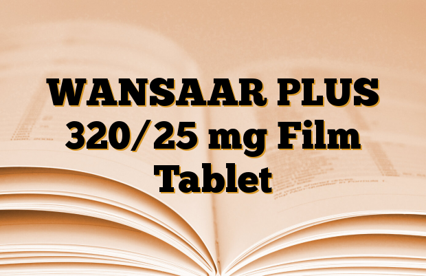 WANSAAR PLUS 320/25 mg Film Tablet