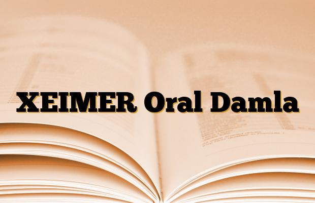 XEIMER Oral Damla