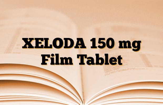 XELODA 150 mg Film Tablet