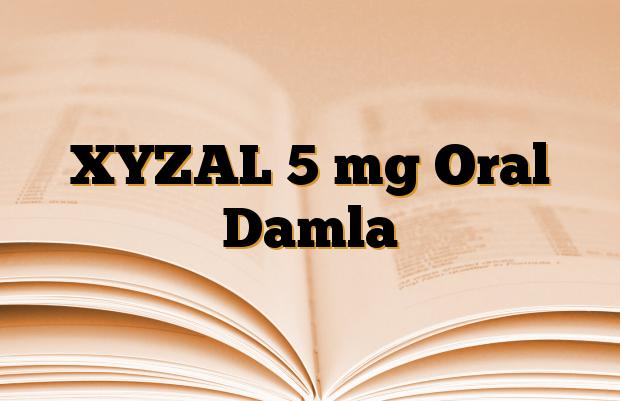 XYZAL 5 mg Oral Damla