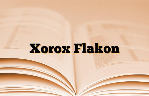 Xorox Flakon
