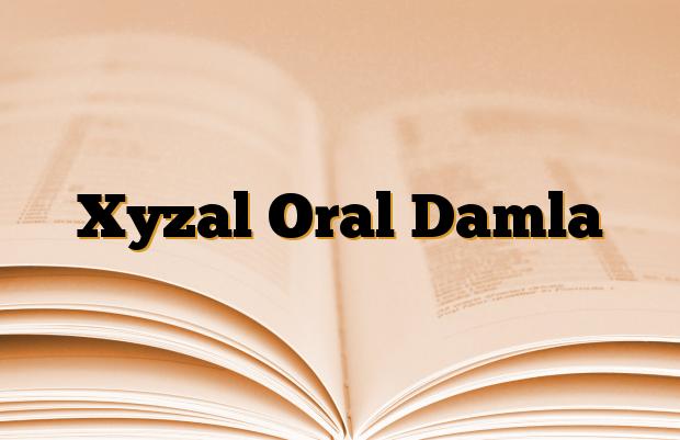 Xyzal Oral Damla