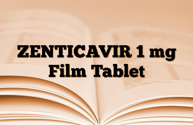 ZENTICAVIR 1 mg Film Tablet